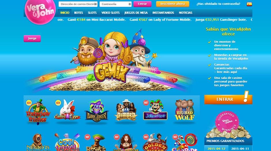 Jugar casino online vera&john